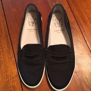 Cole Haan Pinch Maine Grand OS canvas loafers 8.5